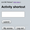 Quizzes start when the student types in an activity shortcut (usually a 4-digit number, given by the teacher).